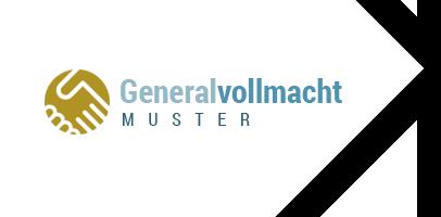 Generalvollmacht Muster